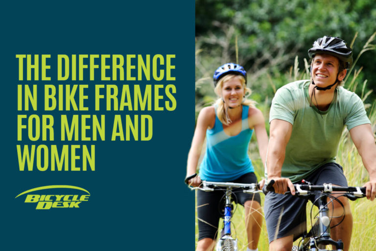 Difference in Bike Frames for Men and Women