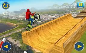 BMX Cycle - Tricky Stunts - Game